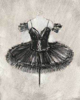 Picture of BLACK BALLET DRESS II